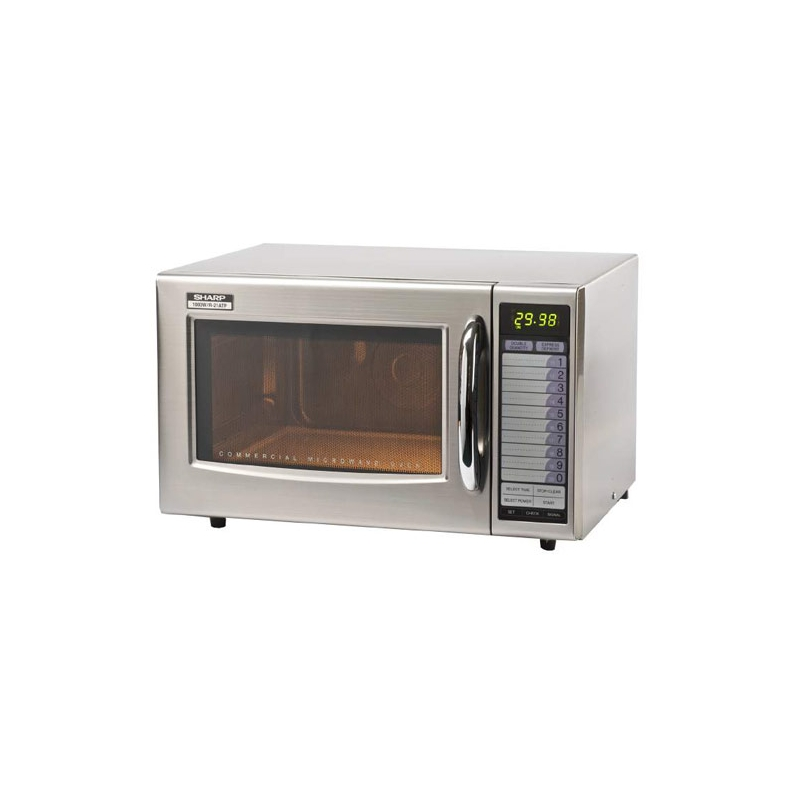 21 At 1000w Microwave Oven