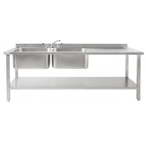 DBRD1800 & DBLD1800 Large Double Sinks