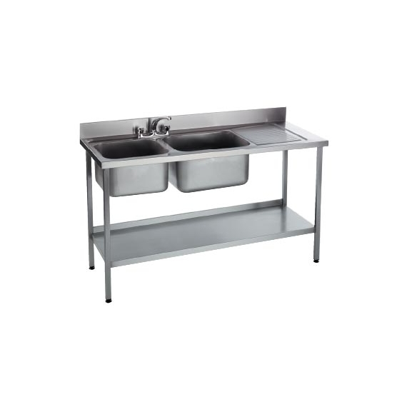 DBRD1500 & DBLD1500 Double Bowl Sink