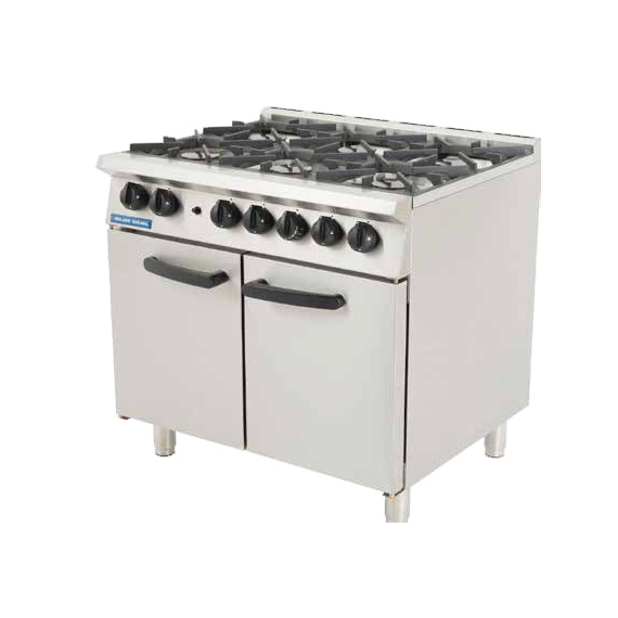 G750-6 NAT GAS Six Burner Cooker