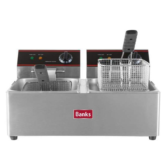 EFD6 Twin Tank Fryer