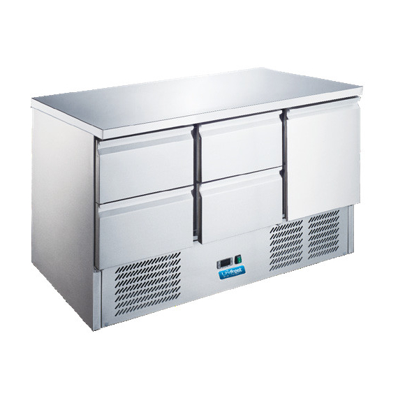RC1370E-4D Refrigerated Counter