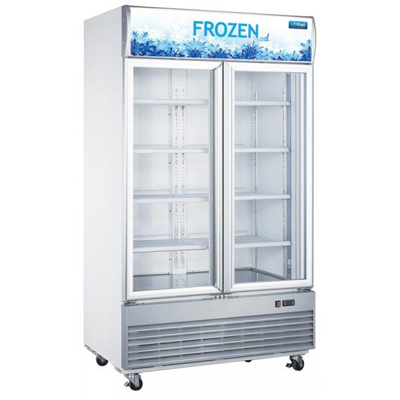 GDF1200 2 Door Display Freezer