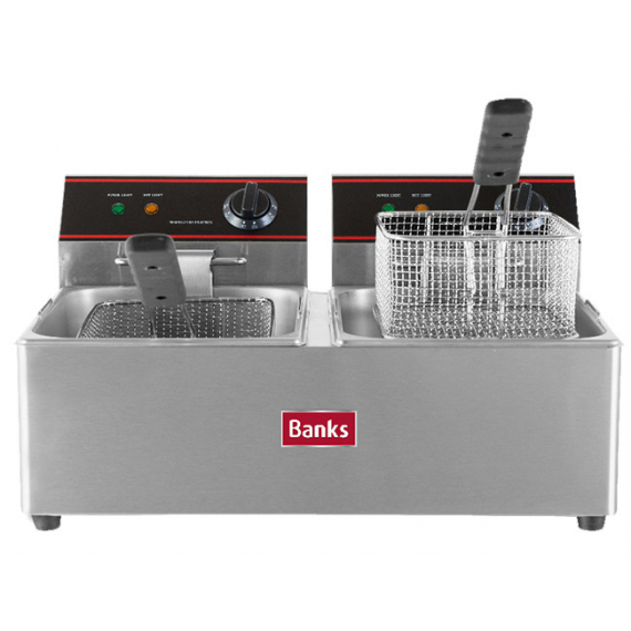 EF6TT Twin Tank Fryer