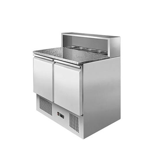 ESL 3831GR Pizza / Saladette Preparation Fridge