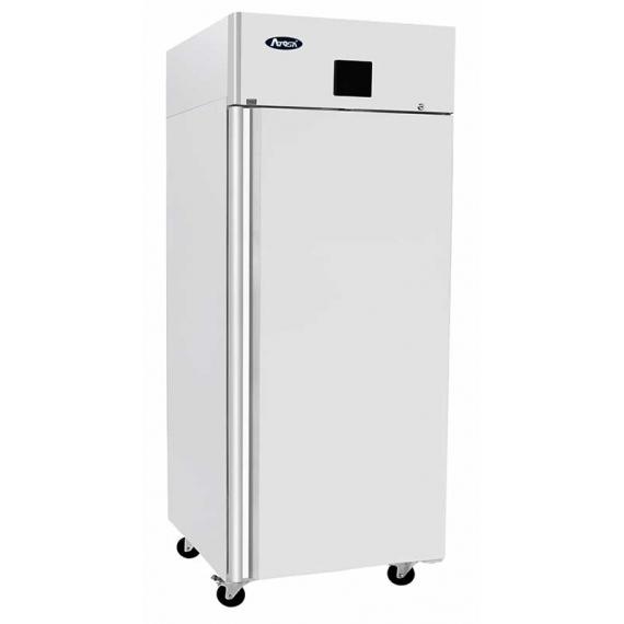 R-MBF 8116GR-LH Heavy Duty GN2/1 Single Door Refrigerator