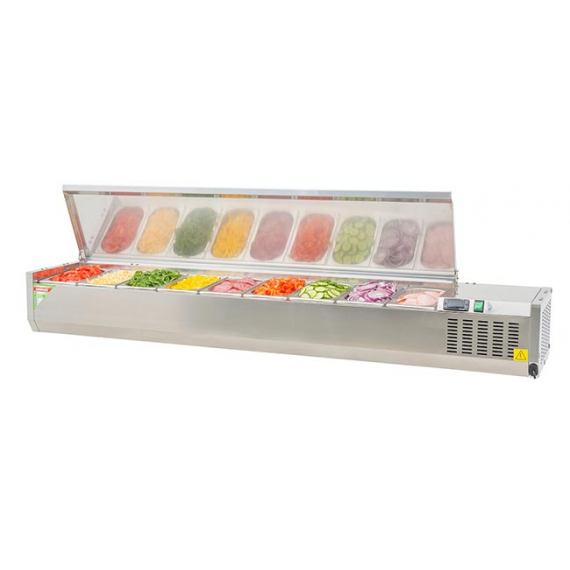 ESL 3861GRS Chilled Prep Top with Lid