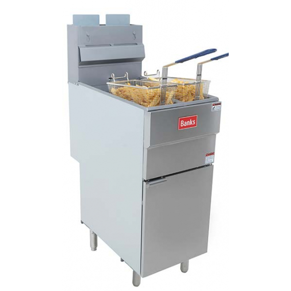 GF40L Twin Basket Fryer