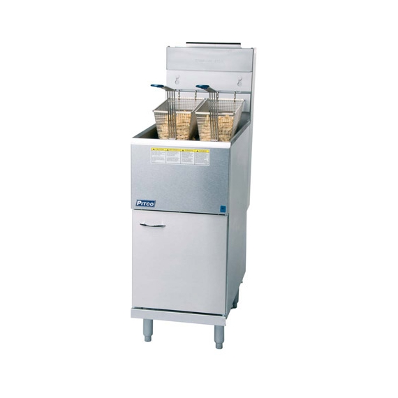 CE-35CS NAT GAS Twin Basket Fryer