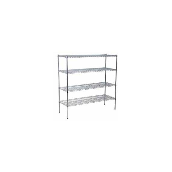 Chrome Shelf Racking Set C