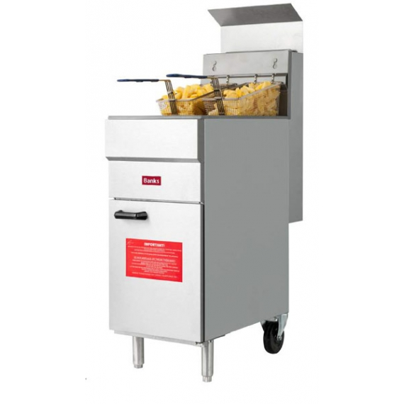 GF30 GAS TWIN Basket Fryer