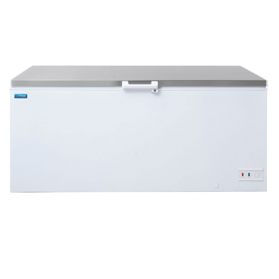 CF600HS Stainless Lid Chest Freezer