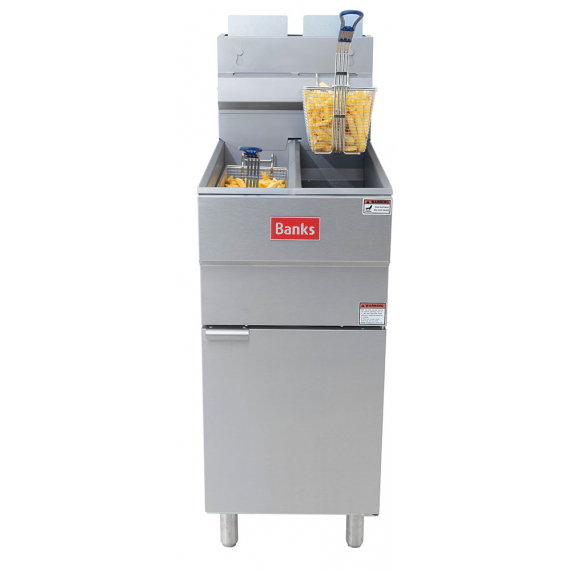 GF32TT Gas Twin Tank Fryer